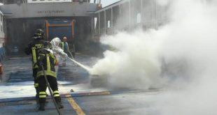 Esercitazione antincendio Ischia