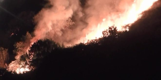Incendio Ischia
