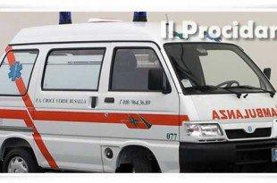 mini ambulanza porter