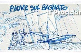 canoe sotto acqua
