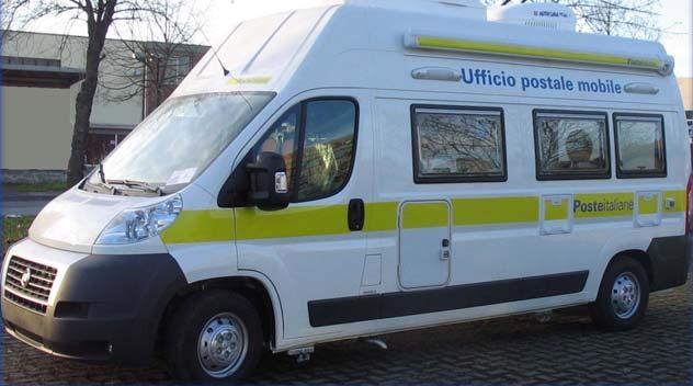 Procida in arrivo ufficio mobile di poste italiane il for Mobile per ufficio