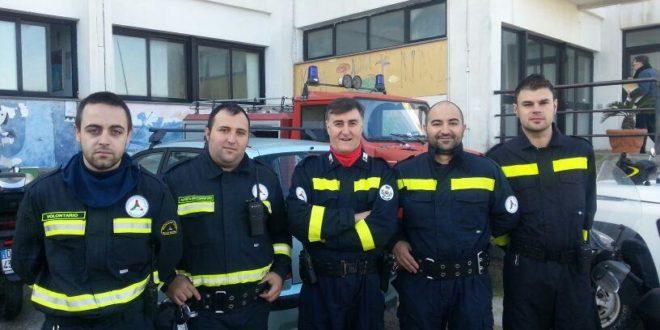 Protezione civile squadra
