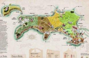 Mappa Procida per grancie