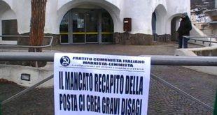 Protesta ufficio postale Ischia