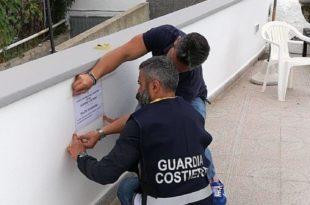 Guardia Costiera Ischia sequestro albergo