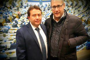 Menico Scala con Armando Cesareo