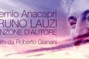 Premio Anacapri Bruno Lauzi 2018