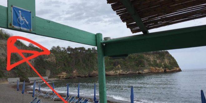 Disabili spiaggia de il postino