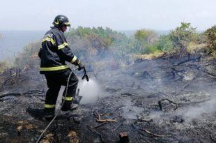 Protezione civile incendio solchiaro