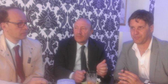 Fabrizio Luongo Ciro Fiola e Maurizio Frantellizzi