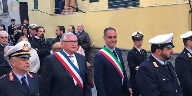 Ambrosino e Vincent a San Michele