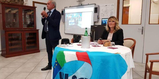 Nicola Cutrignelli e Roberta Vannini responsabili Uil Scuola area Flegrea