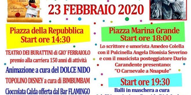 Cartellone Carnevale