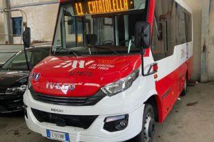 Nuovo autobus EAV