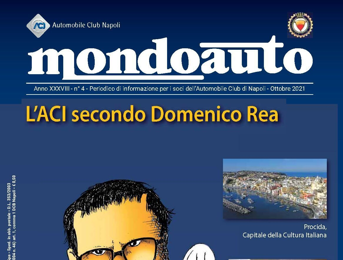 Mondoauto di ottobre dedica un servizio a Procida Capitale della Cultura  2022 | Il Procidano